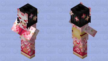 Japanese Village (shepherd) Minecraft Mob Skin
