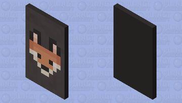 Fox Cape (Zach's Cape) Minecraft Mob Skin