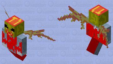 fire demon!!! Minecraft Mob Skin