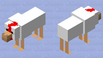 The chicken that lost it's wings and grew 2 more legs Minecraft Mob Skin