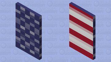 American Flag Minecraft Mob Skin