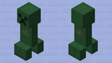 Creeper remake Minecraft Mob Skin