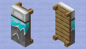 Scenic bed overlay Minecraft Mob Skin