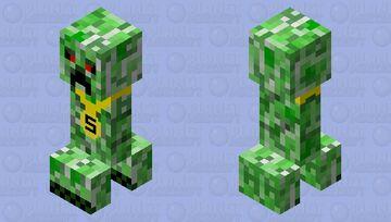 Rich creeper (aw man) Minecraft Mob Skin