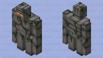 Ancient Golem (Revered) Minecraft Mob Skin