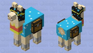 bruh its wonder lama Minecraft Mob Skin