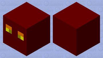Simplistic Magma Cube Minecraft Mob Skin