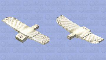 Snowy owl Minecraft Mob Skin