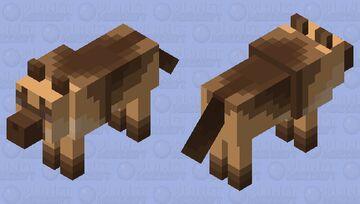 German Shepherd -v1- Minecraft Mob Skin