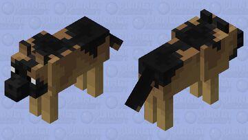 german Shepard Minecraft Mob Skin