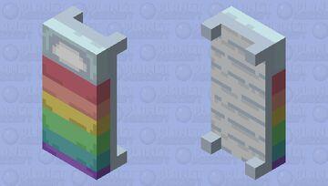 [rainbow bed] (updated) Minecraft Mob Skin