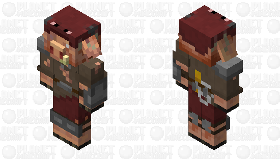 Strider Hunter Minecraft Skin