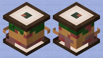 Sandvich Minecraft Mob Skin