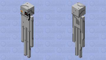 ROBOTENDMAN Minecraft Mob Skin