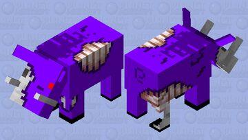 Void Zoglin Minecraft Mob Skin