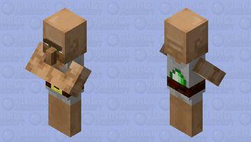 Better Villager Base Minecraft Mob Skin