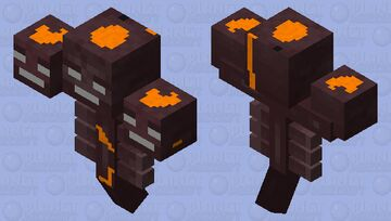 Nether Wither Minecraft Mob Skin