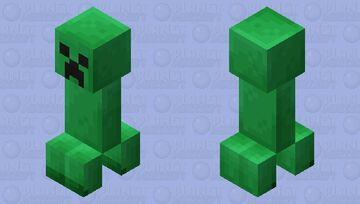 Creeper Inflatable Minecraft Mob Skin