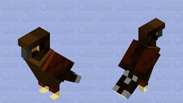 Harris Hawk Minecraft Mob Skin