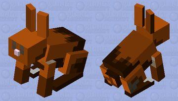 chocolate bunny :D Minecraft Mob Skin