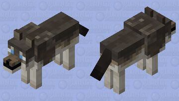Herding Dog/Tamed Wolf Minecraft Mob Skin