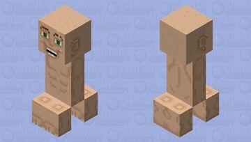 Creeper Friend Minecraft Mob Skin