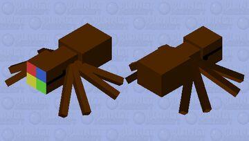 bronzowy pająk windows Minecraft Mob Skin