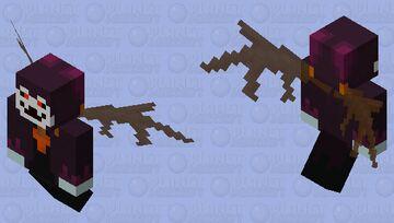 Veilinth (Nightmare Dimension) - Geistling Minecraft Mob Skin