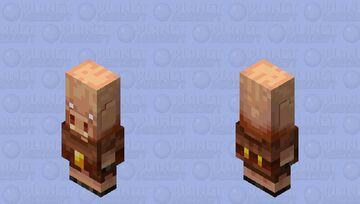 piglin / baby-villager (re-remade) Minecraft Mob Skin
