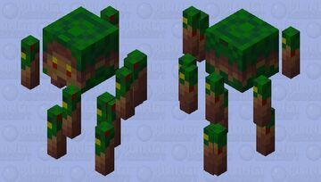 Nature blaze Minecraft Mob Skin