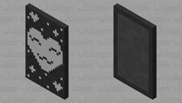Cute heart cape Minecraft Mob Skin
