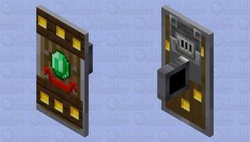 Village shield Minecraft Mob Skin