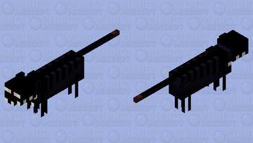 "[ > ""Sanity? = 0%"" ] (Cat) Minecraft Mob Skin"