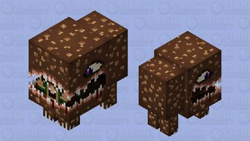 The great hunger (Gift mob skin for Xillager and Yoler_Toons) XD! Minecraft Mob Skin