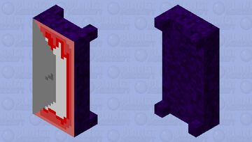 Doorway to the smile room Minecraft Mob Skin