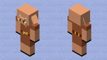 Plastic Piglin From The Nether Update Trailer Minecraft Mob Skin