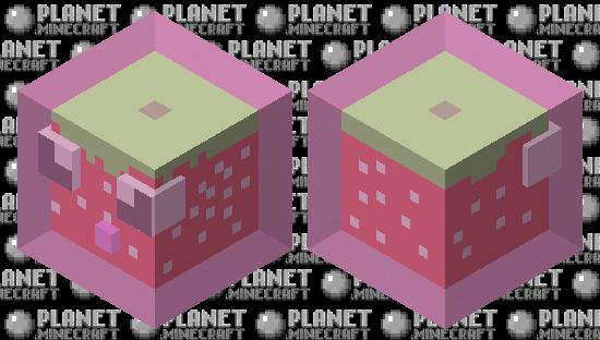 Strawberry slime 3.0 Minecraft Skin