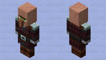 Pillager Villager Minecraft Mob Skin
