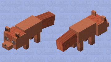 Vulpix - Pokemon Fox Replacer Minecraft Mob Skin