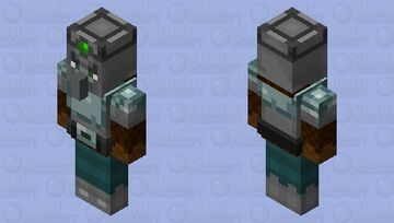 Illager Knight Minecraft Mob Skin