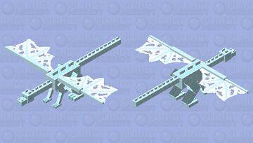 Ice Spikes Biome Dragon Minecraft Mob Skin
