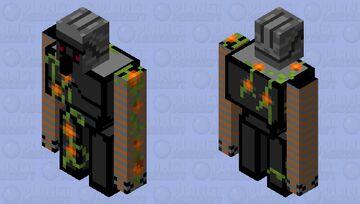deep dark golem Minecraft Mob Skin