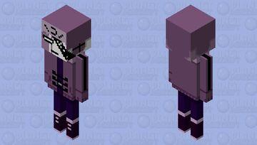 Ruv (Friday night funkin) Minecraft Mob Skin