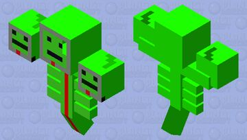 job bot wither Minecraft Mob Skin