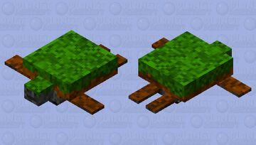 Earth Turtle Minecraft Mob Skin