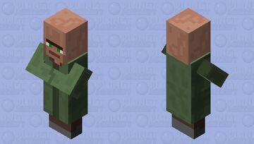 Noseless Villager Minecraft Mob Skin