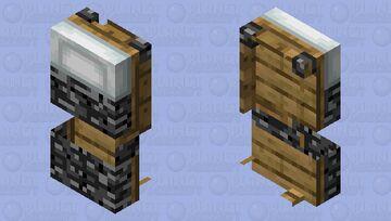 Alive bedrock bed Minecraft Mob Skin