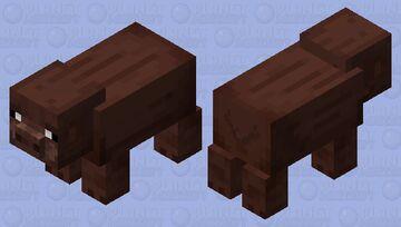 Boar Minecraft Mob Skin