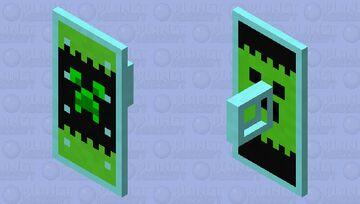 Puzzle Pieces - Minecraft Merch Part 2 (Shield Model) Minecraft Mob Skin