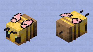Butterfly winged Soft bee Minecraft Mob Skin